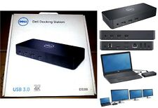 Brand NEW dell ULTRA HD 4K SuperSpeed Docking Station USB 3.0 connessione 3 monitor