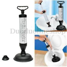 New Drain Buster Suction Handle Powerful Suction Plunger Bath Toilet Cleaner