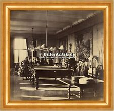 The Billiard Room, Mentmore Pool Spiele Tische Queue Kugeln Lampen Photo S 178