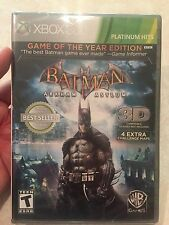 Batman: Arkham Asylum -- Game of the Year Edition (Microsoft Xbox 360, 2010) NEW