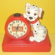 (SEE VIDEO) Disney 101 Dalmatian / Dalmatians Barking Alarm Clock - RARE
