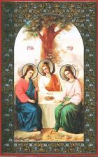 NICE ORTHODOX ICON PICTURE OF OLD TESTAMENT TRINITY