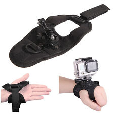 360° Glove  Wrist Band Mount Strap Accessories for GoPro Hero 4/3+/1 Camera Hot