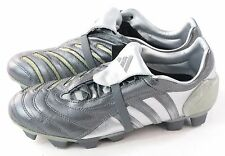 Adidas Mens Predator Pulse 2 TRX FG Soccer Cleat Silver Size 7 US