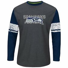 Seattle Seahawks Majestic Men's Down to the Wire Thermal Shirt XXL