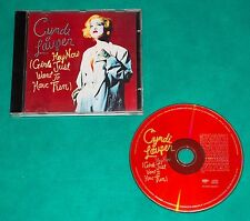 Cyndi Lauper ‎- Hey Now (Girls Just Want To Have Fun) BRAZIL CD SINGLE 1995 Epic