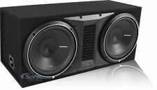 "Rockford Fosgate Punch P2 P2-2X12 1600 Watt Dual 12"" Loaded Sealed Subwoofer Box"
