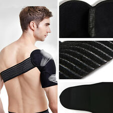 Neoprene Brace Dislocation Injury Arthritis Pain Magnetic Shoulder Support Strap