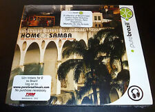 "New! ""PURE BRAZIL: HOME OF SAMBA"" (CD 2004) Veloso/Silva/Ben/Pagodinho *SEALED*"