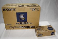 NEW !!! Deadstock !!! Sony DCR-VX1000 w/Box Free Shipping from TOKYO JAPAN (25)