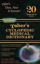Taber's Cyclopedic Medical Dictionary English Thumb-Indexed Version (2005,...