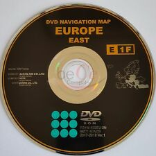 Toyota, Lexus ORIGINAL Navigation DVD Update Map E1F 2018 East Ost Europa