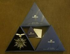 *NIB* 2011 LARGE SWAROVSKI CRYSTAL CHRISTMAS ORNAMENT STAR/SNOWFLAKE