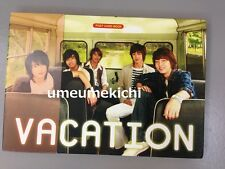 RARE TVXQ DBSK Tohoshinki official Vacation post card book 2006