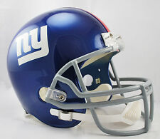 NEW YORK GIANTS NFL Riddell Full Size Deluxe REPLICA Football Helmet