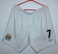 Manchester City England match worn shorts #7 Umbro Size L