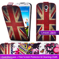 NEW PU LEATHER WALLET CASE COVER FOR SAMSUNG GALAXY S4 I9500 SCREEN PROTECTOR
