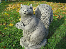 Squirrel stone garden ornament | Many more ornaments in my shop!