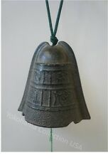 "Windchime Furin Antique Color Iwachu Cast Iron  ""Hisabi"" Ancient Bell/Made Japan"