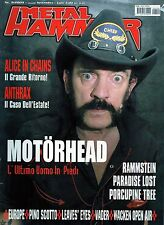 Metal Hammer.Motorhead,Paradise Lost,Alice in Chains,Europe,Threat Signal,Evile