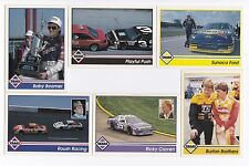 1992 Traks Racing Machines Bonus Complete 20 card set BV$5! Gordon Baby Boomer!