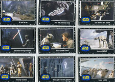 Star Wars Journey to the Force Awakens Black Starfield 110 Card Chase Set