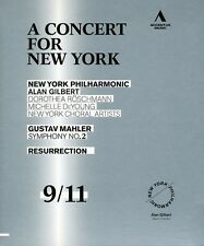 Concert for New York: Mahler - Symphony No. (2011, REGION A Blu-ray New) BLU-RAY