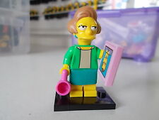 lego minifigures the  edna krabappel from series 2 simpsons
