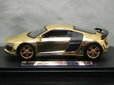 New 1:24 Audi R8 GT Alloy Diecast car Model Toy Vehicle Gift  Gold-plated 1758