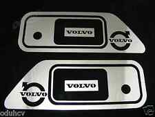2 Set Stainless Steel Metal Handle Door Covers for Volvo FH/FM/FL Truck Polished