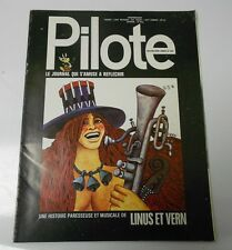 PILOTE French Comic Cartoon Magazine #682 FN+ 52 pgs COLOR Oversized
