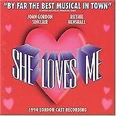 She Loves Me [1994 London Cast Recording] (CD) . FREE UK P+P ..................