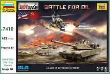 Zvezda 7410. 1:100 &  1:72 Scale. Hot War - Battle for Oil Game   (BNIB) # 7410.