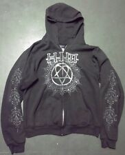 HIM Heartagram Hoodie Size Small Retro