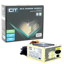 CiT 600W Gold Edition PSU 12cm 24-Pin SATA Model 600U