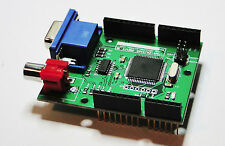 VGADuino I , VGA 640 x 480 Graphic Shield for Arduino with RGB and TV outputs