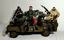 4X4 Military Jeep Diorama Vehicle for 1/6 Scale Display - Not Hot Toys