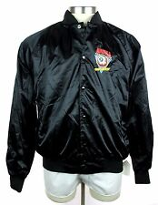 New MISHKA MNWKA Keep Watch Eyeball Black Varsity/Baseball Jacket Coat 2XL NWT!