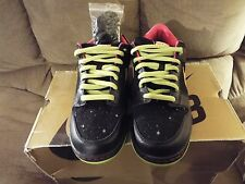 08 Nike Dunk Low Premium SB SPACE TIGER BLACK YELLOW OCHRE PINK 313170-071 10.5