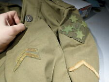 WWI VINTAGE US Army 4th Infantry Division Uniform 59th Infantry