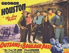 Outlaws of Boulder Pass 1942 George Houston, Al St. John, Marjorie Manners  West