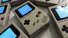 White Backlit DMG-01 Original Nintendo Gameboy + Backlight + Service + Batteries
