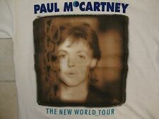 Vintage Paul McCartney The New World Tour 1993 Concert Classic Rock T Shirt M