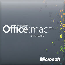 MICROSOFT OFFICE 2011 STANDARD MAC 32/64 BIT ESD - ORIGINALE FATTURABILE