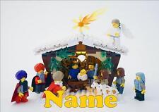 LEGO NATIVITY PERSONALISED CHRISTMAS / XMAS PLACEMAT novelty
