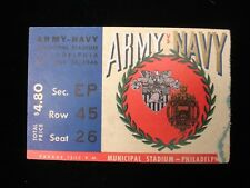 November 30, 1946 Army vs. Navy Football Game Ticket Stub