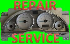 Repair Service for 02 03 04 05 Buick Rendezvous Instrument Panel Cluster