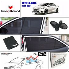 4 PCS SET CURTAIN BLIND SUN SHADE ASSEMBLY SET FIT FOR TOYOTA ALTIS 2014-Now