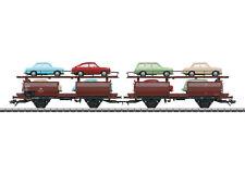 MÄRKLIN 46127 Autotransportwagen-Paar der DB #NEU in OVP#