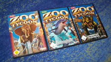 Zoo Tycoon Complete Collection RIESIG alle Teile PC 3 Zoos in 1 Auktion DEUTSCH